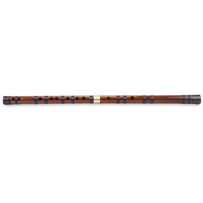Chinese Musical Instrument Bamboo Flute E Key with Brass Joint 1PKG