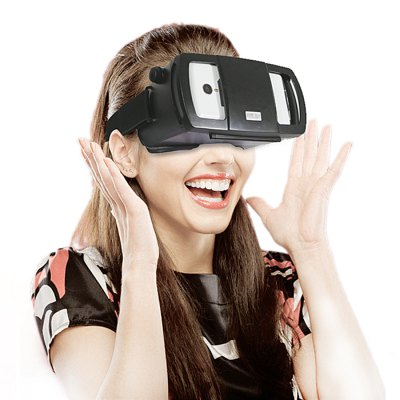 IBADDY VR 3D Glasses Virtual Reality Headset Resin Lens