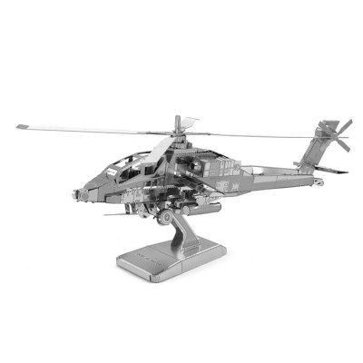 Apache Helicopter Metal 3D Puzzle