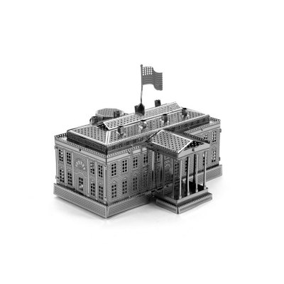 USA White House Metal 3D PuzzleModel &amp; Building Toys<br>USA White House Metal 3D Puzzle<br><br>Type: 3D Puzzle<br>Theme: Reality<br>Materials: Metal<br>Gender: Unisex<br>Style: Construction<br>Stem From: Europe and America<br>Package weight: 0.050 kg<br>Package size: 17.00 x 12.00 x 0.20 cm / 6.69 x 4.72 x 0.08 inches<br>Package Contents: 1 x 3D Puzzle Set, 1 x English Manual