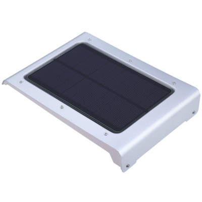 Human Body Motion Induction Lamp 46 LEDs Solar LightOutdoor Lights<br>Human Body Motion Induction Lamp 46 LEDs Solar Light<br><br>Powered source: Solar and Battery<br>Light Type: Outdoor Light,Solar Light<br>Light Color: White<br>Features: Sensor<br>Total LED: 46<br>Solar Panel : 5.5V 1.5W<br>Battery Voltage: 3.7V<br>Charging time: 6 - 8 hours<br>Working Time: 8 hours<br>Material: ABS,Aluminum<br>Product weight: 0.320 kg<br>Package weight: 0.420 kg<br>Product size (L x W x H): 18.00 x 12.50 x 3.00 cm / 7.09 x 4.92 x 1.18 inches<br>Package size (L x W x H): 22.50 x 14.50 x 5.00 cm / 8.86 x 5.71 x 1.97 inches<br>Package Contents: 1 x 46 LEDs Solar Powered Light Motion Human Senor Wall Lamp, 1 x English User Manual, 1 x A Packet of  Installation Accessory