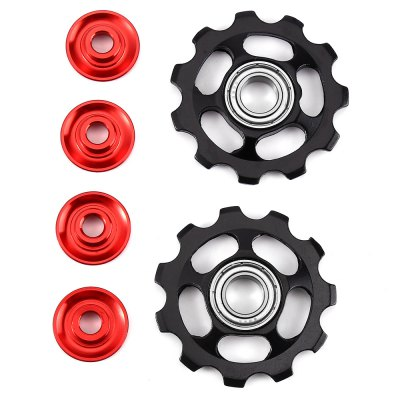 2 x 11T Aluminum Sealed Bearing Derailleur Pulleys