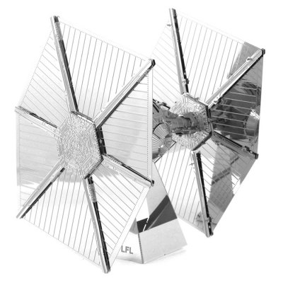 Tie Fighter WarplaneModel &amp; Building Toys<br>Tie Fighter Warplane<br><br>Gender: Unisex<br>Materials: Metal<br>Package Contents: 1 x 3D Puzzle Set, 1 x English Manual<br>Package size: 17.00 x 11.00 x 0.20 cm / 6.69 x 4.33 x 0.08 inches<br>Package weight: 0.0740 kg<br>Stem From: Europe and America<br>Style: Figure Statue<br>Theme: Fantasy and Sci-fi,Movie and TV<br>Type: 3D Puzzle