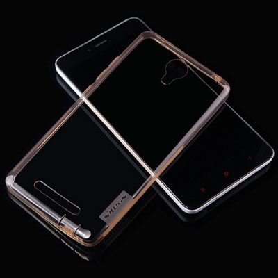 NILLKIN Transparent TPU Protective Back Case for XIAOMI Redmi Note 2