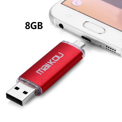 Maikou MK-760 2 in 1 8GB OTG USB 2.0 Flash Drive