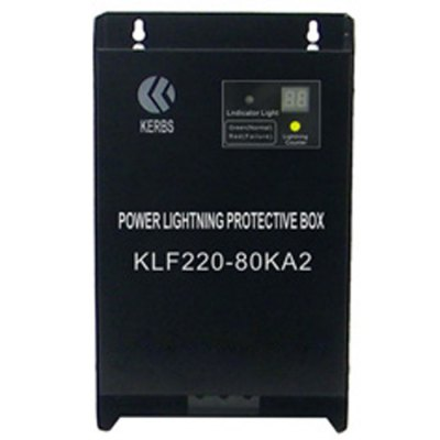 KERBS KLF220-80KA2 Thunder SPDOther Instruments<br>KERBS KLF220-80KA2 Thunder SPD<br><br>Brand: KERBS<br>Model: KLF220-80KA2<br>Material: Electronic Components<br>Type: Professional instruments<br>Certificate: CE<br>Primary functions: Surge Protector<br>Scope of application: Agricultural,Industrial,Office,Supermarket<br>Product weight: 1.800KG<br>Package weight: 1.840 KG<br>Product size: 26.00 x 16.00 x 9.60 cm / 10.24 x 6.3 x 3.78 inches<br>Package size: 28.00 x 18.00 x 11.60 cm / 11.02 x 7.09 x 4.57 inches<br>Package Contents: 1 x KERBS KLF220-80KA2 Thunder SPD, 1 x English Manual