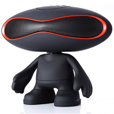 ФОТО Q30A Rugby Doll Wired + Bluetooth 3.0 Speaker