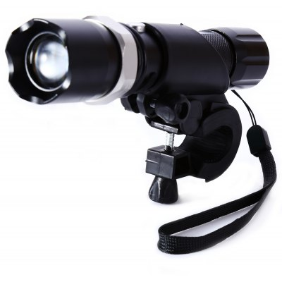 Lomon SK3 Mountain Bike Headlights LED Rotating Zoom Flashlight