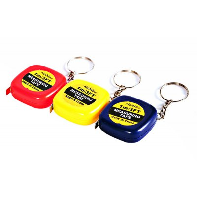 MK1519 1M Mini Measuring Tape / Rule with Keychain