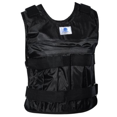 Zooboo Adjustable Weighted Vest Weight Jacket for Exercise Fitness Boxing Training