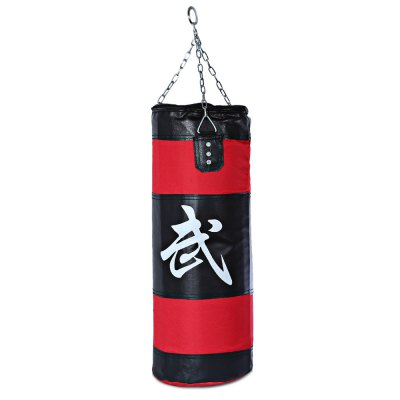 Zooboo 70cm Empty Punching Bag with Chain Martial Art Hollow Taekwondo Boxing Training Fitness Sandbag
