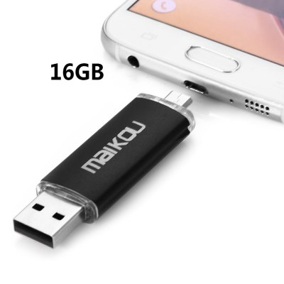Maikou MK-760 2 in 1 16GB OTG USB 2.0 Flash Drive