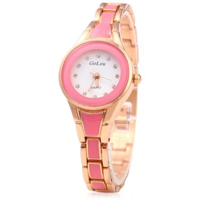 GoLou G-028 Diamond Scale Quartz Ladies Watch