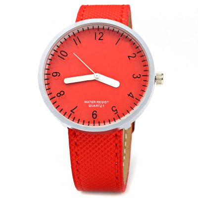 Simple Leather Band Wristwatch Quartz Ladies WatchWomens Watches<br>Simple Leather Band Wristwatch Quartz Ladies Watch<br><br>Watches categories: Female table<br>Available color: Black,Blue,Green,Pink,Red,Silver,White,Yellow<br>Style: Fashion&amp;Casual<br>Movement type: Quartz watch<br>Shape of the dial: Round<br>Display type: Analog<br>Case material: Stainless Steel<br>Band material: Leather<br>Clasp type: Pin buckle<br>The dial thickness: 0.8 cm / 0.32 inches<br>The dial diameter: 3.8 cm / 1.50 inches<br>The band width: 1.6 cm / 0.63 inches<br>Wearable length: 17.5 - 20.8 cm / 6.89 - 8.19 inches<br>Product weight: 0.028KG<br>Package weight: 0.058 KG<br>Product size (L x W x H): 23.00 x 4.00 x 0.80 cm / 9.06 x 1.57 x 0.31 inches<br>Package size (L x W x H): 24.00 x 5.00 x 1.80 cm / 9.45 x 1.97 x 0.71 inches<br>Package Contents: 1 x Watch
