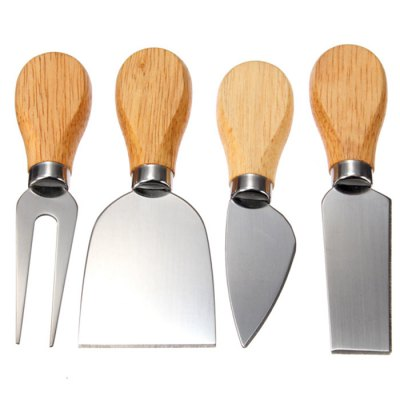 4Pcs Handheld Baking Knife Fork Tool KitForks<br>4Pcs Handheld Baking Knife Fork Tool Kit<br><br>Type: Eco-friendly<br>For: All<br>Material: Stainless Steel,Wood<br>Occasion: Kitchen Room<br>Product weight: 0.100 kg<br>Package weight: 0.180 kg<br>Package size (L x W x H): 15.00 x 10.00 x 10.00 cm / 5.91 x 3.94 x 3.94 inches<br>Package Contents: 4 x Baking Tool