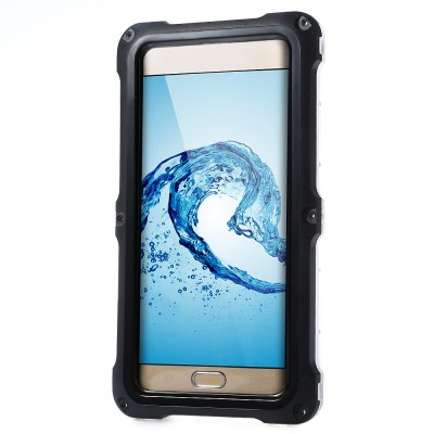 Waterproof Screw Thread PET Case for Samsung S6 Edge PlusSamsung Cases/Covers<br>Waterproof Screw Thread PET Case for Samsung S6 Edge Plus<br><br>Characteristic: Screw thread design, fixed with six screws to make sure fully sealed<br>Features: Full Body Cases,Waterproof Case<br>Material: PC,PET,TPU<br>Style: Special Design<br>Color: Black,Blue,Green,Rose,White<br>Product weight: 0.090 kg<br>Package weight: 0.140 kg<br>Product size (L x W x H): 17.00 x 9.00 x 1.30 cm / 6.69 x 3.54 x 0.51 inches<br>Package size (L x W x H): 18.00 x 9.50 x 1.70 cm / 7.09 x 3.74 x 0.67 inches<br>Package Contents: 1 x Waterproof Screw Thread PET Touch Screen Case Cover for Samsung S6 Edge Plus, 1 x English User Manual, 1 x Neck Strap, 1 x Set of Installation Tools