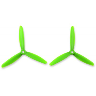 2Pcs T5040 3-blade Propeller for 2300KV Motor RC Aircraft