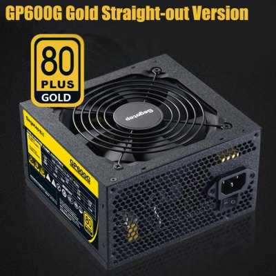 Segotep GP600G Power Supply 80 Plus Gold Straight-out Version