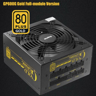 Segotep GP600G Power Supply 80 Plus Gold Full-module Version 500W Electric Source