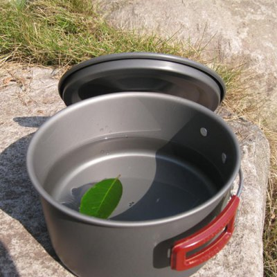 AOTU Outdoor 3L Single Pot with Folding Handle