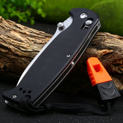 Ganzo G7412-BK-WS Axis Lock Pocket Knife