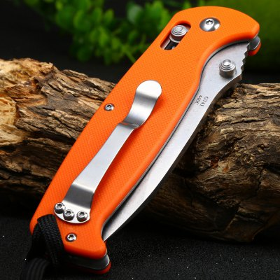 Ganzo G7412-OR-WS Axis Lock Pocket Knife
