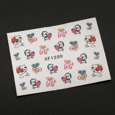10pcs Water Transfer Nail Wraps Temporary Tattoos Watermark Nail Sticker ToolsNail Sticker<br>10pcs Water Transfer Nail Wraps Temporary Tattoos Watermark Nail Sticker Tools<br><br>Type: Nail Art Stickers<br>Features: Charming Colors,Easy to Carry,Lightweight<br>Functions: Waterproof<br>Main Features: DIY Nail Art Stickers<br>Net Content(ml): 10 Sheet Nail Art Tool<br>Material: Plastic<br>Color: Multi-color<br>Product weight: 0.001KG<br>Package weight: 0.010 KG<br>Package size (L x W x H): 13.50 x 11.00 x 0.10 cm / 5.31 x 4.33 x 0.04 inches<br>Package Contents: 10 x Water Transfer Sticker Nail Wraps
