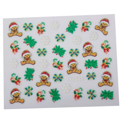 10pcs Chic Art Decorations Christmas Gift Girls3D Nail StickersNail Sticker<br>10pcs Chic Art Decorations Christmas Gift Girls3D Nail Stickers<br><br>Category: Nail Sticker<br>Style: Charming<br>Features: Easy to Carry<br>Season: All seasons<br>Occasion: Holiday<br>Application: Hand<br>Product weight: 0.001KG<br>Package weight: 0.010 KG<br>Package size (L x W x H): 13.50 x 11.00 x 1.00 cm / 5.31 x 4.33 x 0.39 inches<br>Package Contents: 1 x Nail Sticker
