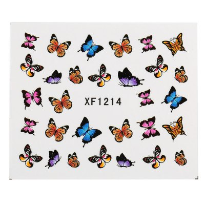 10pcs Watermark Butterflies Design Nail Sticker Manicure Decor ToolsNail Sticker<br>10pcs Watermark Butterflies Design Nail Sticker Manicure Decor Tools<br><br>Features: Easy to Carry,Lightweight,No Poison<br>Functions: Others<br>Product weight: 0.001 kg<br>Package weight: 0.031 kg<br>Package size (L x W x H): 13.50 x 11.00 x 1.00 cm / 5.31 x 4.33 x 0.39 inches<br>Package Contents: 1 x Piece of Nail Sticker