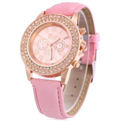 Women Quartz Watch Artificial Diamond Wristwatch