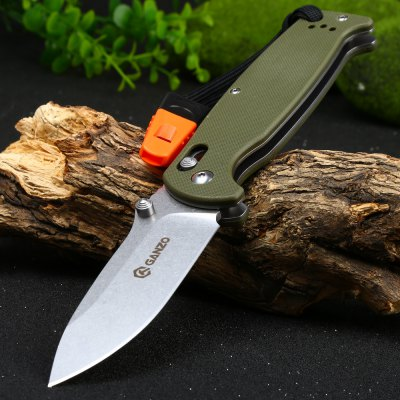 Ganzo G7412-GR-WS Axis Lock Pocket Knife