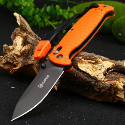 Ganzo G7413P-OR-WS Axis Lock Pocket Knife