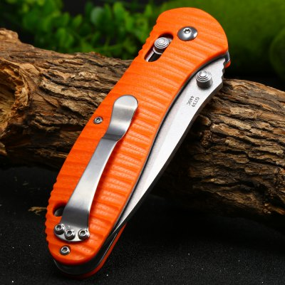 Ganzo G7392P-OR Portable Axis Lock Pocket KnifePocket Knives and Folding Knives<br>Ganzo G7392P-OR Portable Axis Lock Pocket Knife<br><br>Blade Edge Type: Fine<br>Blade Length: 9.0 cm<br>Blade Length Range: 5cm-10cm<br>Blade Width : 2.6 cm<br>Brand: GANZO<br>Clip Length: 6.0 cm<br>Color: Orange<br>For: Travel, Adventure, Collecting, Hiking, Home use, Camping<br>Handle Material: G10 handle<br>Lock Type: Axis Lock<br>Model Number: G7392P<br>Package Contents: 1 x Ganzo G7392P-OR Pocket Knife, 1 x Storage Bag<br>Package size (L x W x H): 15.50 x 6.50 x 4.30 cm / 6.1 x 2.56 x 1.69 inches<br>Package weight: 0.183 kg<br>Product size (L x W x H): 12.00 x 3.50 x 1.80 cm / 4.72 x 1.38 x 0.71 inches<br>Product weight: 0.135 kg<br>Unfold Length: 21.0 cm<br>Weight Range: 101g-200g