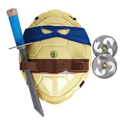 HQF TMNT Wearable Turtles Armor Shell Weapon Toy Cosplay Props