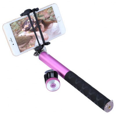 NOOSY BR0802 Extendable Handheld Wireless Bluetooth 3.0 Pro Selfie Stick