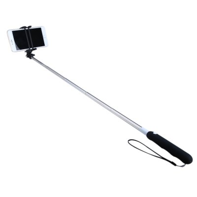 NOOSY BR09 Mini Wireless Bluetooth 3.0 Selfie StickStands &amp; Holders<br>NOOSY BR09 Mini Wireless Bluetooth 3.0 Selfie Stick<br><br>Accessories type: Selfie Stick<br>Brand: NOOSY<br>Features: Selfie Stick,with Bluetooth<br>Bluetooth version: Bluetooth3.0<br>Compatible System Version: Android,IOS<br>Material: Plastic,Silicon,Stainless Steel<br>Battery Capacity(mAh): 60mAh<br>Folding Length: 18cm / 7.09 inches<br>Extended Length: 75cm / 29.53 inches<br>Clip Holder Range: 5.5cm / 2.17 inches - 8cm / 3.15 inches<br>Product weight: 0.051 kg<br>Package weight: 0.215 kg<br>Product size: 18.00 x 3.50 x 3.50 cm / 7.09 x 1.38 x 1.38 inches<br>Package size: 21.50 x 9.50 x 4.00 cm / 8.46 x 3.74 x 1.57 inches<br>Package Contents: 1 x Bluetooth 3.0 Selfie Stick, 1 x Charging Cable, 1 x Safety Belt, 1 x Pouch, 1 x Bilingual Manual in English and Chinese