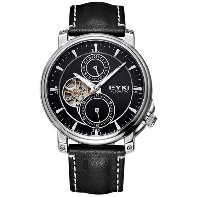ФОТО EYKI 3797 Unisex Automatic Mechanical Watch with Nail Scale