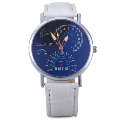 korean-version-business-luminous-blue-glass-needle-quartz-neutral-watch
