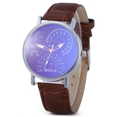 Fashion Korean Version Business Blu ray Wristwatch