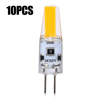10 x 4W G4 280Lm COB LED Corn Light Bulb
