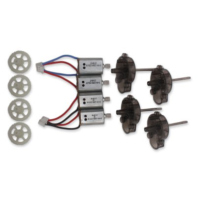 Spare Gear + Motor + Motor Base Set Fitting for Syma X8C Quadcopter