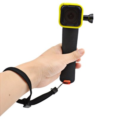 CP-GP213 Floating Handle Mount Floaty Hand GripAction Cameras &amp; Sport DV Accessories<br>CP-GP213 Floating Handle Mount Floaty Hand Grip<br><br>Apply to Brand: Amkov,Dazzne,Eken,FIREFLY,GitUp,Gopro,Mobius,SJCAM,Soocoo,XiaoMi<br>Compatible with: A9,Action Camera,AMK 5000,AMK 5000S,Dazzne P2,Dazzne P3,EKEN H9,FIREFLY 5S,FIREFLY 6S,GitUp Git1,Gitup Git2,Gopro Hero 1,Gopro Hero 2,Gopro Hero 3,Gopro Hero 3 Plus,Gopro Hero 4,GoPro Hero 4 Session,G<br>Accessory type: Floaty Sponge<br>Material: ABS,Sponge<br>Product weight: 0.060 kg<br>Package weight: 0.130 kg<br>Product size (L x W x H): 20.00 x 4.50 x 4.00 cm / 7.87 x 1.77 x 1.57 inches<br>Package size (L x W x H): 23.00 x 8.00 x 7.00 cm / 9.06 x 3.15 x 2.76 inches<br>Package Contents: 1 x Floating Grip, 1 x Hang Rope, 1 x Long Screw