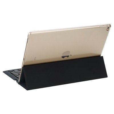 ROCK 2 in 1 Bluetooth Keyboard Protective PU Case for iPad Pro with Stand