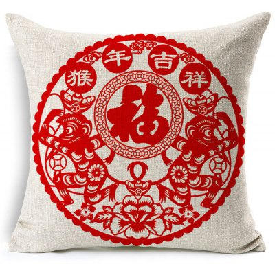 Фотография Multi-functional Cotton Linen Pillow Cover Without Pillow Inner