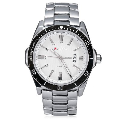 CURREN 8110 Men Quartz WatchMens Watches<br>CURREN 8110 Men Quartz Watch<br><br>Watches categories: Male table<br>Watch style: Casual,Fashion<br>Movement type: Quartz watch<br>Shape of the dial: Round<br>Display type: Analog<br>Hour formats: 12 Hour<br>Case material: Stainless Steel<br>Band material: Stainless Steel<br>Clasp type: Folding clasp with safety<br>Special features: Date<br>Water resistance : 30 meters<br>The dial thickness: 1 cm / 0.39 inches<br>The dial diameter: 4.5 cm / 1.77 inches<br>The band width: 2 cm / 0.79 inches<br>Product weight: 0.139 kg<br>Package weight: 0.179 kg<br>Product size (L x W x H): 11.00 x 5.00 x 2.50 cm / 4.33 x 1.97 x 0.98 inches<br>Package size (L x W x H): 12.00 x 6.00 x 3.50 cm / 4.72 x 2.36 x 1.38 inches<br>Package Contents: 1 x CURREN Men Quartz Watch