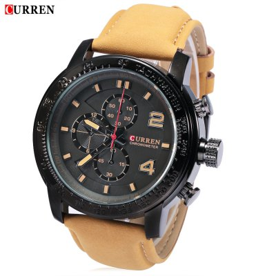 CURREN 8190 Men Quartz Watch