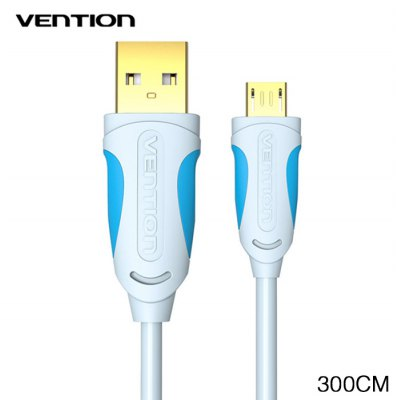 VENTION A04 Micro USB Charge and Data Sync Cable PVC Coated 300m