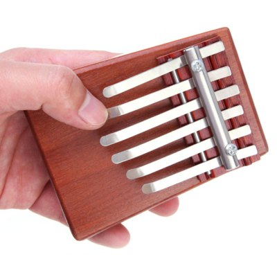 Thumb Piano Rosewood Mbira Instrument Gift for Kids / Friend