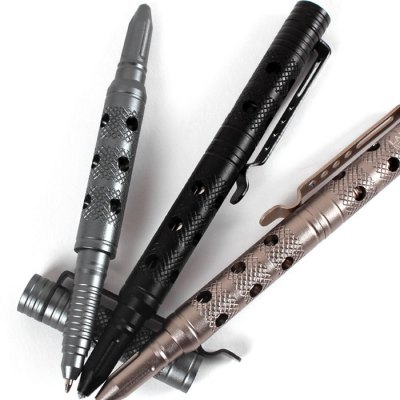 LAIX B7-2 Portable Tungsten Steel Head Tactical Pen Self Defense Tool for EmergencyEDC Tools<br>LAIX B7-2 Portable Tungsten Steel Head Tactical Pen Self Defense Tool for Emergency<br><br>Brand Name: LAIX<br>Model: B7-2<br>Product weight: 0.038 kg<br>Package weight: 0.110 kg<br>Product size (L x W x H): 15.90 x 1.40 x 1.40 cm / 6.26 x 0.55 x 0.55 inches<br>Package size (L x W x H): 18.00 x 5.00 x 2.50 cm / 7.09 x 1.97 x 0.98 inches<br>Package Contents: 1 x Tactical Pen