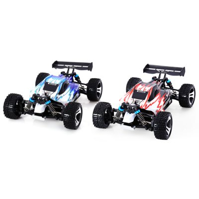 Фотография WLtoys A959 1/18 Scale 2.4G RC Off-road Racing Car with Anti-vibration System